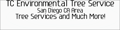 San Diego CA Tree Services | 619-798-4004 | TC Environmental Tree Service